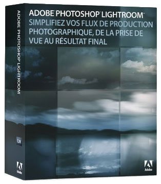 Version boite de Photoshop Lightroom
